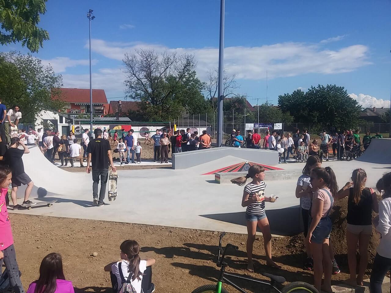 Nova gradiška otvorenje skate parka