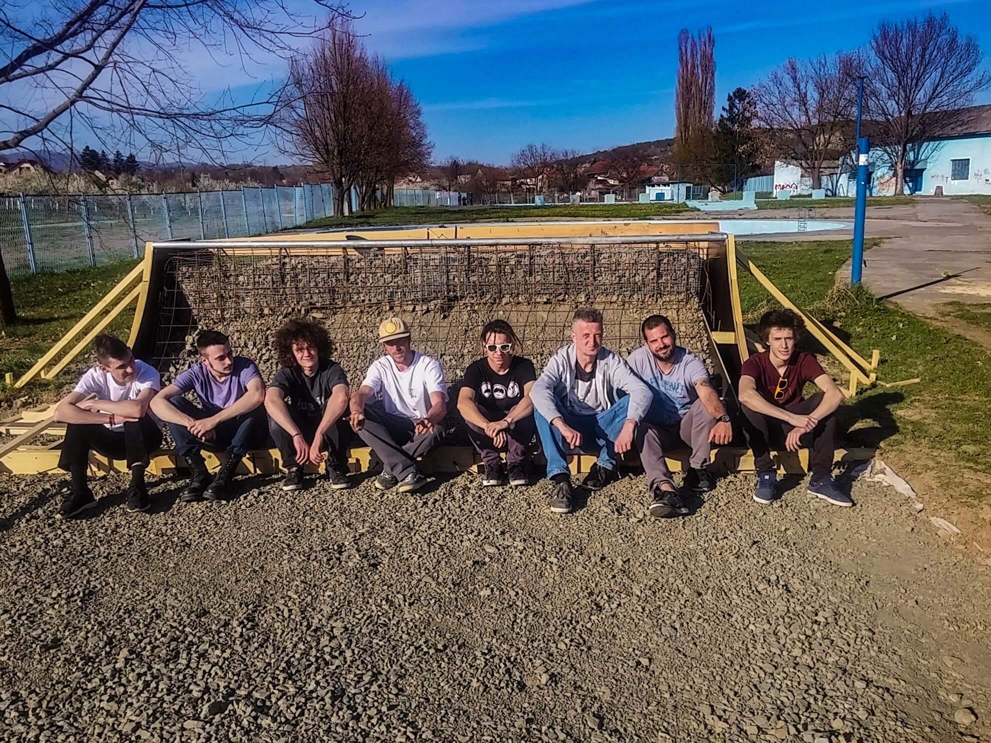 Skate park Nova Gradiška izgradnja 1