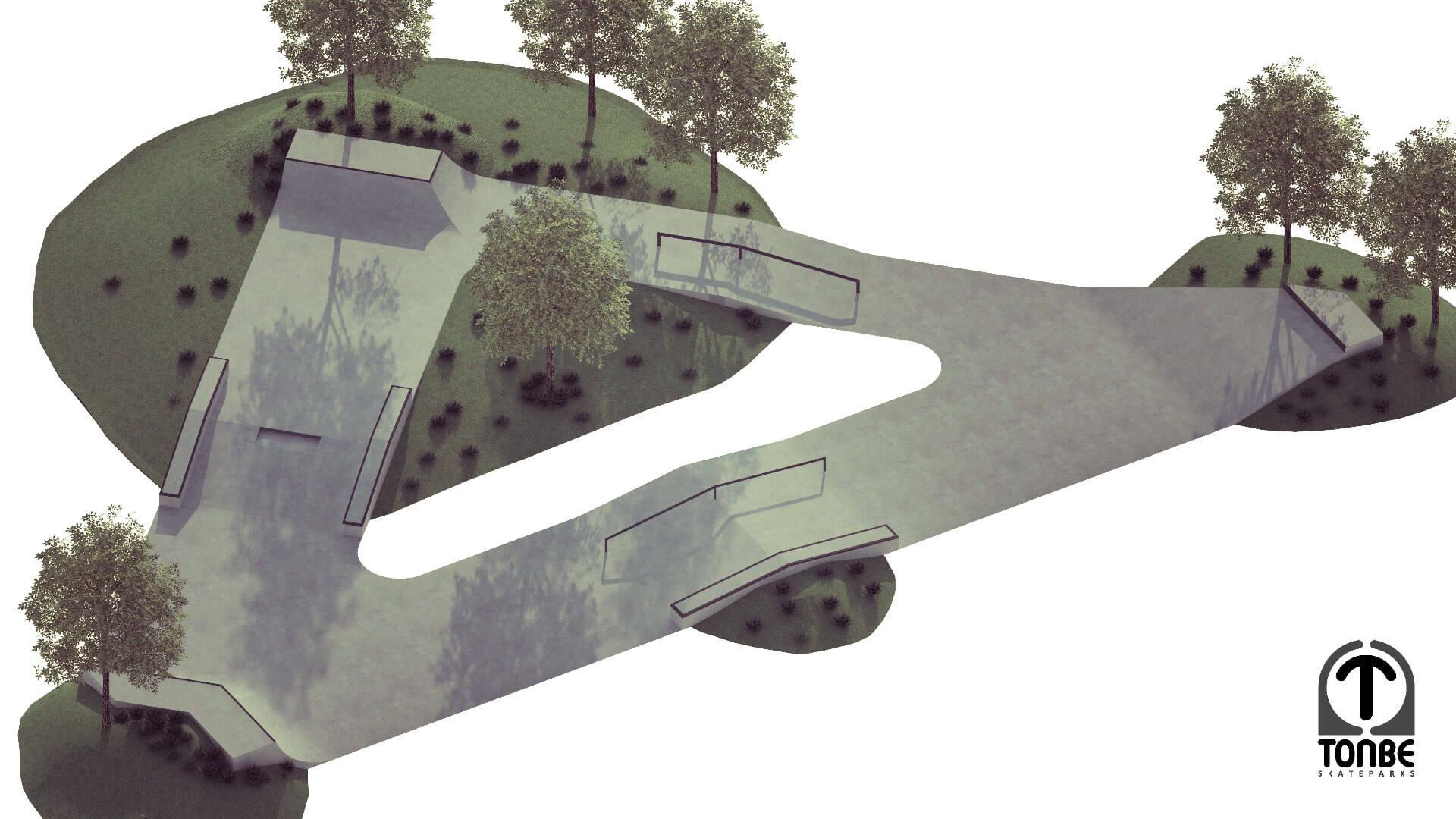 Nacrt za Skate park Vukovar 3