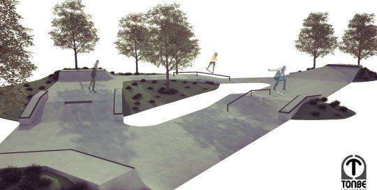 Nacrt za Skate park Vukovar 2