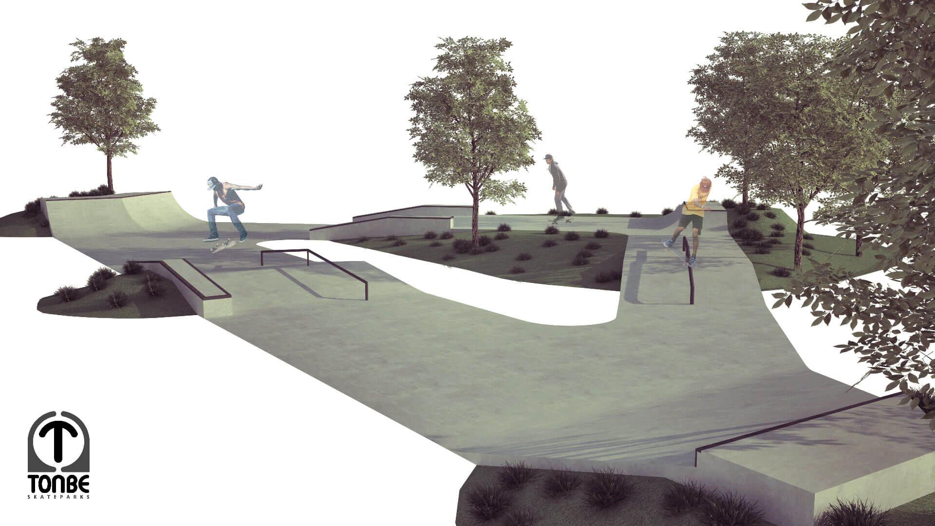 Nacrt za Skate park Vukovar 1