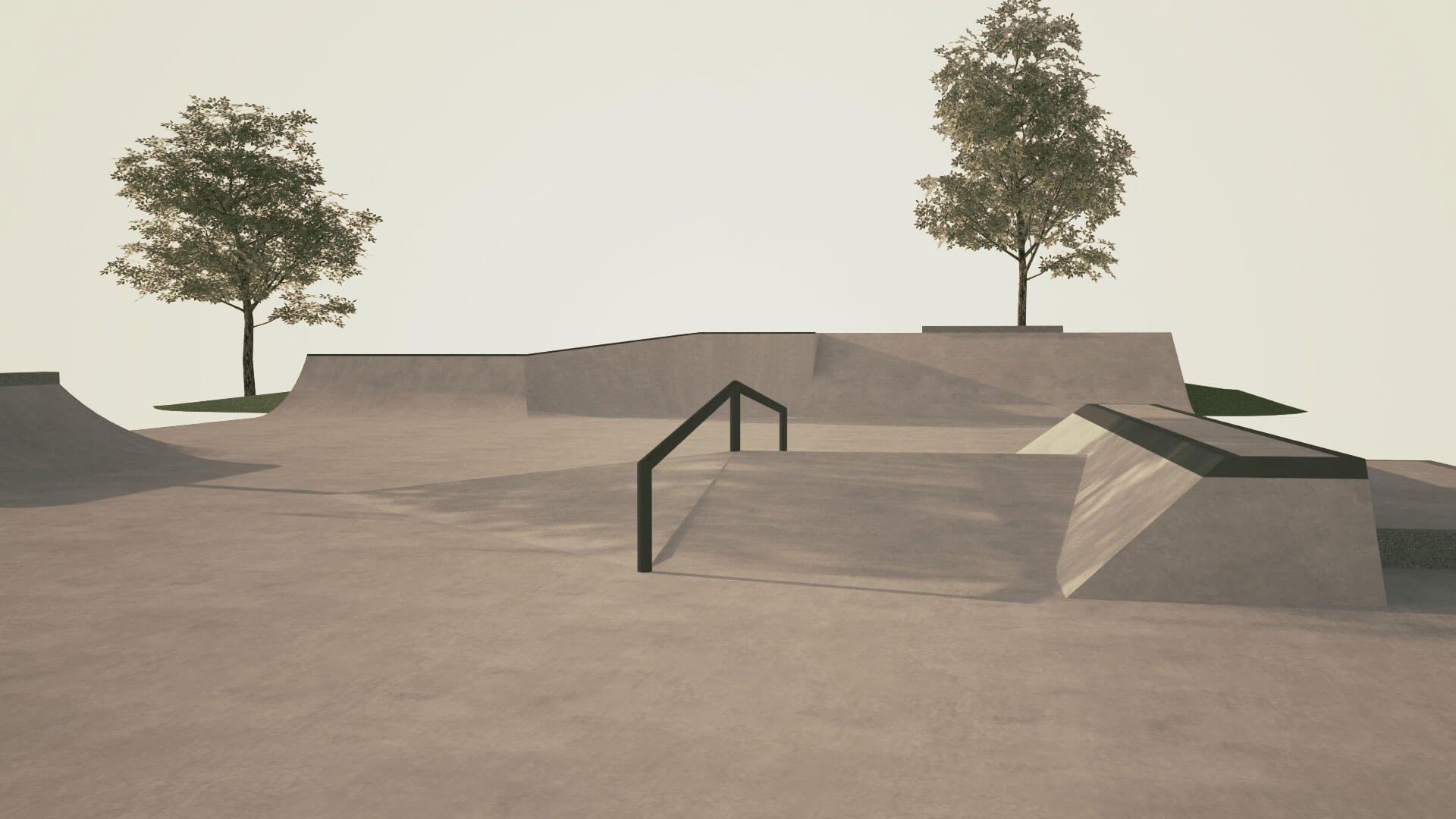 Nacrt za Skate park Zabok 1