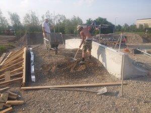 proces izgradnje skate parka u Sisku