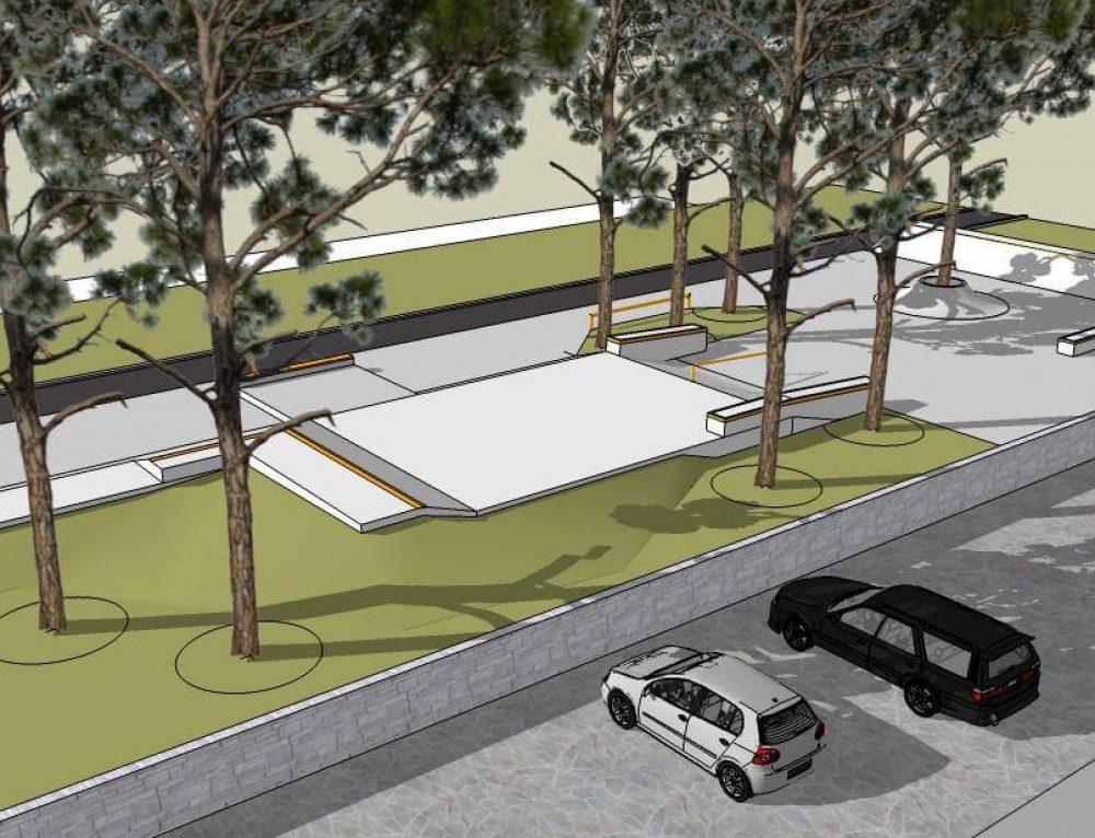 Nacrt za skate park – Zadar